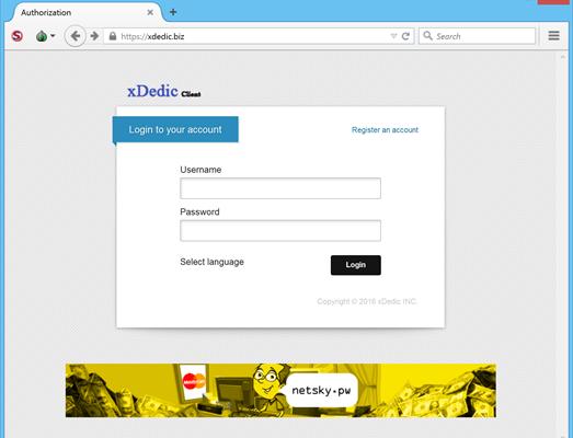 Припинено діяльність маркетплейса xDedic