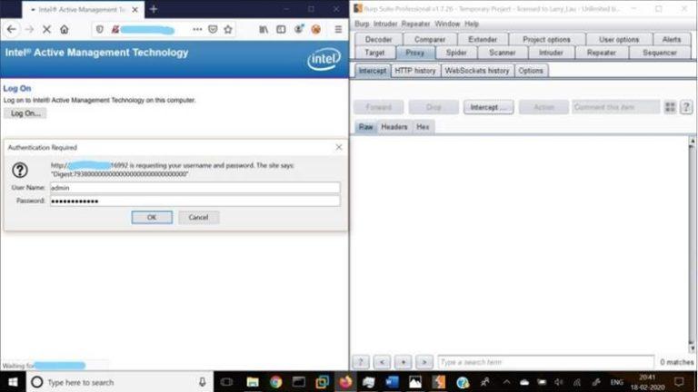 CVE 2017-5689: Ручна експлуатація уразливості в Intel AMT
