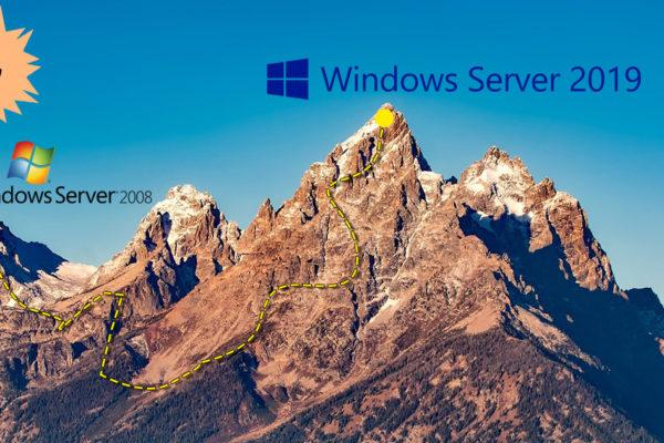 Перехід з Windows Server 2008 на Windows Server 2019, легка прогулянка або сходження на гору?